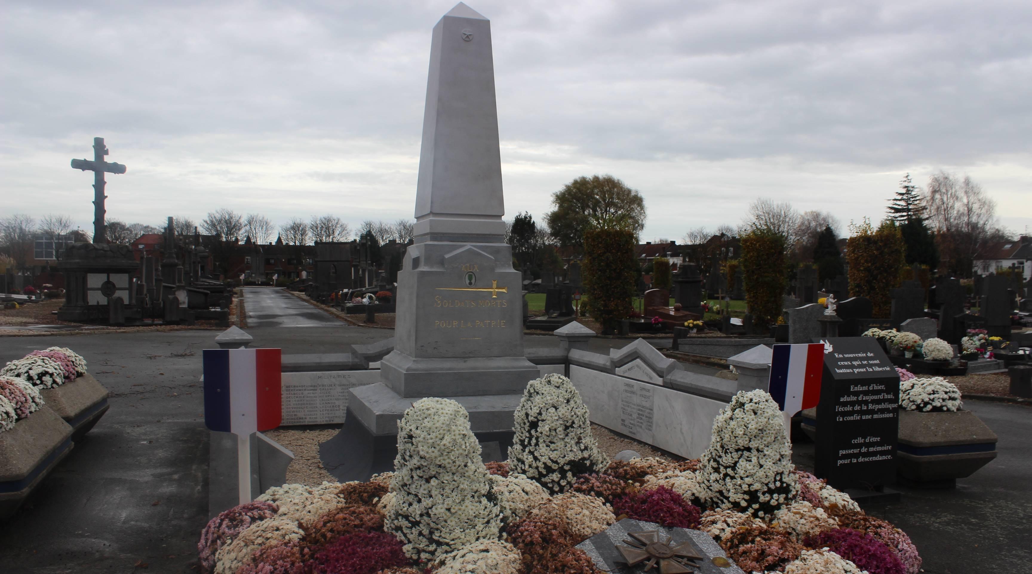Restauration d'un monument aux morts